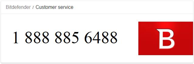 Bitdefender Customer service