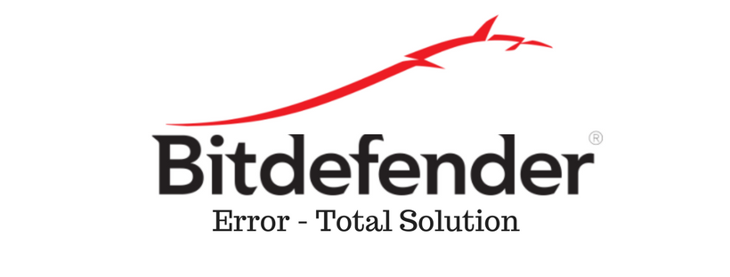 fix Bitdefender error