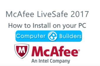 How to install McAfee LiveSafe